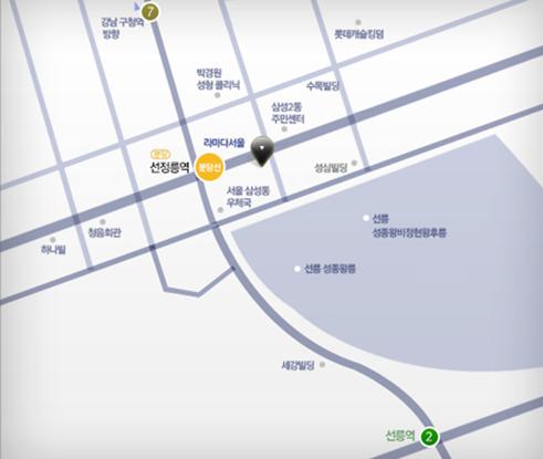 서울시 강남구 역삼동 735-3번지 포스코P&S타워
